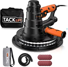 Drywall Sander, TACKLIFE 800W Electric Drywall Sander with Automatic Vacuum Dust Collection System & LED Light, 12 Pcs San...