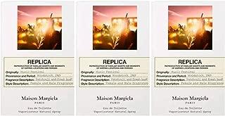 Maison Margiela Replica Music Festival Eau De Toilette ~ Carded Sample Trio ~ 0.04 fl oz each/total 0.12 fl oz