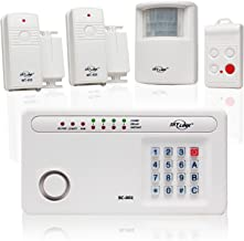 Skylink SC-100W Wireless Deluxe Home & Office Burglar Alarm System Alert Security Package Affordable, Easy to Install DIY