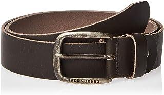 Jack & Jones NOS Jacpaul حزام جلد Noos Belt ، (Castlerock) ، 95 للرجال