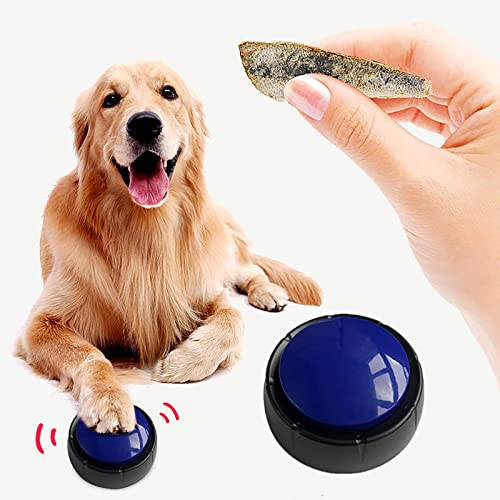 2021 Sound Buzzer for Dogs, Answer Buzzers for Pet Training, Personalized Sound Buzzer Talking Button and Recordable Button, 20 Second outlet online sale Record Button, Pet Training Bells wholesale Gift for Pets online sale