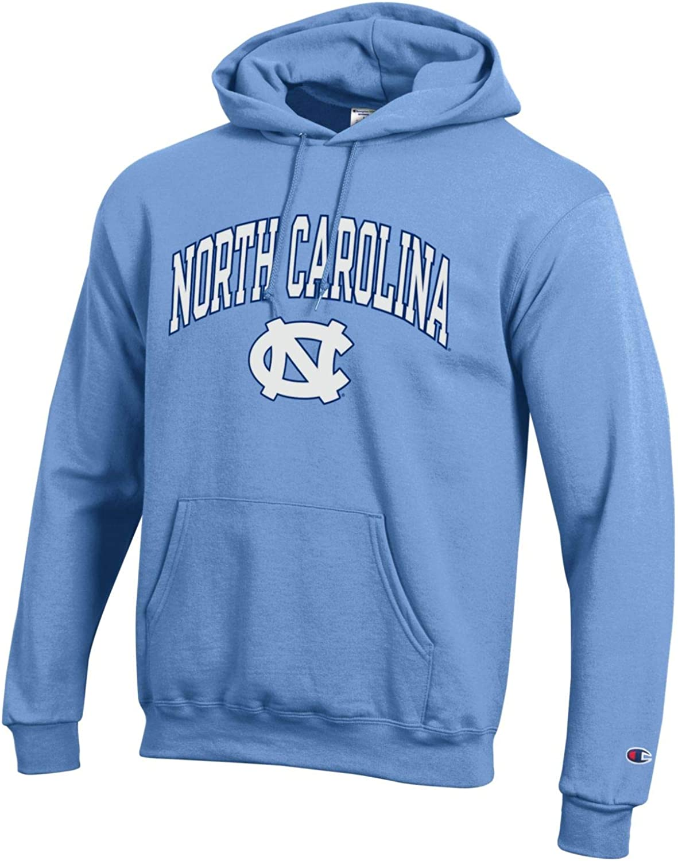 Champion UNC North Carolina NCAA Sweatshirt Carolina Blue