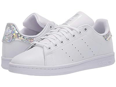 adidas Originals Kids Stan Smith (Big Kid) (White/Black) Kids Shoes