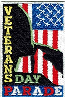 Girl Boy Cub Veterans Day Parade Fun Patches Crests Badges Scouts Guide Soldier