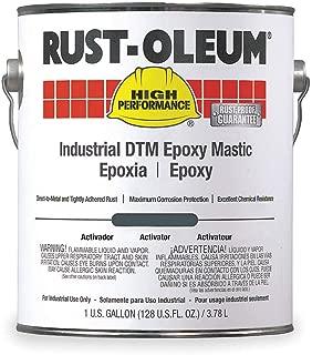 Rust-Oleum 9100 System <340voc Dtm Epoxy Mastic, Silver Gray 1 Gallon Pail