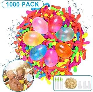 Sunshine smile Globos de Agua,Globos de Agua Coloridos,Water Balloons,Globos de Agua niños,Juguete Globos de Agua,Globos de Agua para Fiesta