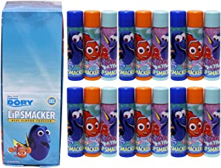 Lip Smacker Disney Finding Dory Best Flavor Forever Party Pack Lip Glosses, 18 Count