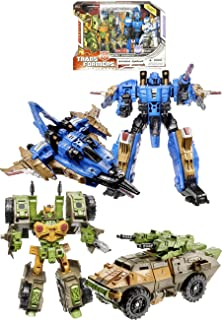 Transformers Universe G1 Series Exclusive 2 Pack Robot Action Figure Set - Autobot Roadbuster with Voyager Class 7 Inch Tall Decepticon Dirge and Deluxe Class 5 Inch Tall Autobot Roadbuster Plus Bonus Comic