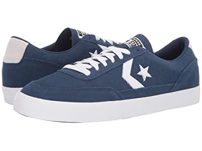 Converse Net Star Classic Suede Ox (Navy/White/White) Men