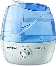 Umidificador de Ar Ultrassônico Confort Air 2 MONDIAL Branco/Azul 220 V