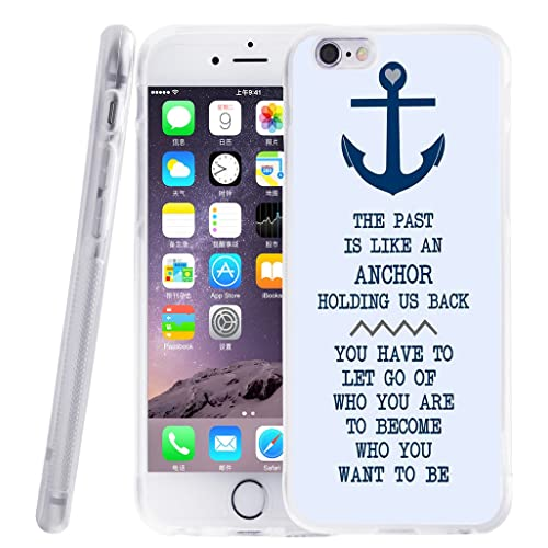 a9a10106aa154b case for iPhone 6S Quotes - Topgraph  Exact Compatible Slim Fit Clear with  Design Full