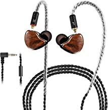 in-Ear Monitors, [Newest Updated Version] Wired Earbuds Headphones/Earphones/Headset Dual Drivers with MMCX Detachable Cab...