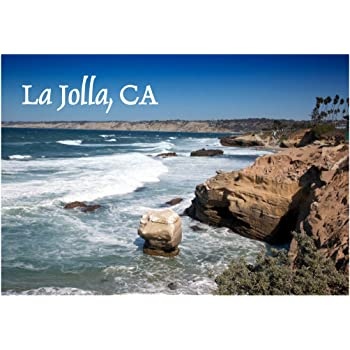 Amazon Com La Jolla Beach San Diego California Ca Pacific Ocean Travel Souvenir Refrigerator Locker Gift Magnet 2 X 3 Fridge Magnet Kitchen Dining