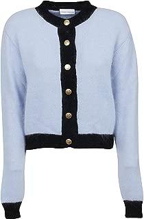 CHIARA FERRAGNI Luxury Fashion Womens CFCD001SKY Light Blue Cardigan | Fall Winter 19