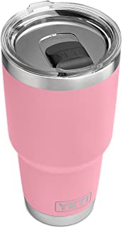 YETI Rambler 30 oz Stainless Steel Vacuum Insulated Tumbler w/MagSlider Lid, Pink