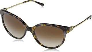 Michael Kors Oval Sunglasses For Women, Brown