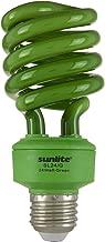 Sunlite SL24/G 24 Watt Spiral Energy Saving Compact Fluorescent CFL Light Bulb (100-Watt Incandescent Equivalent) Medium Base Green