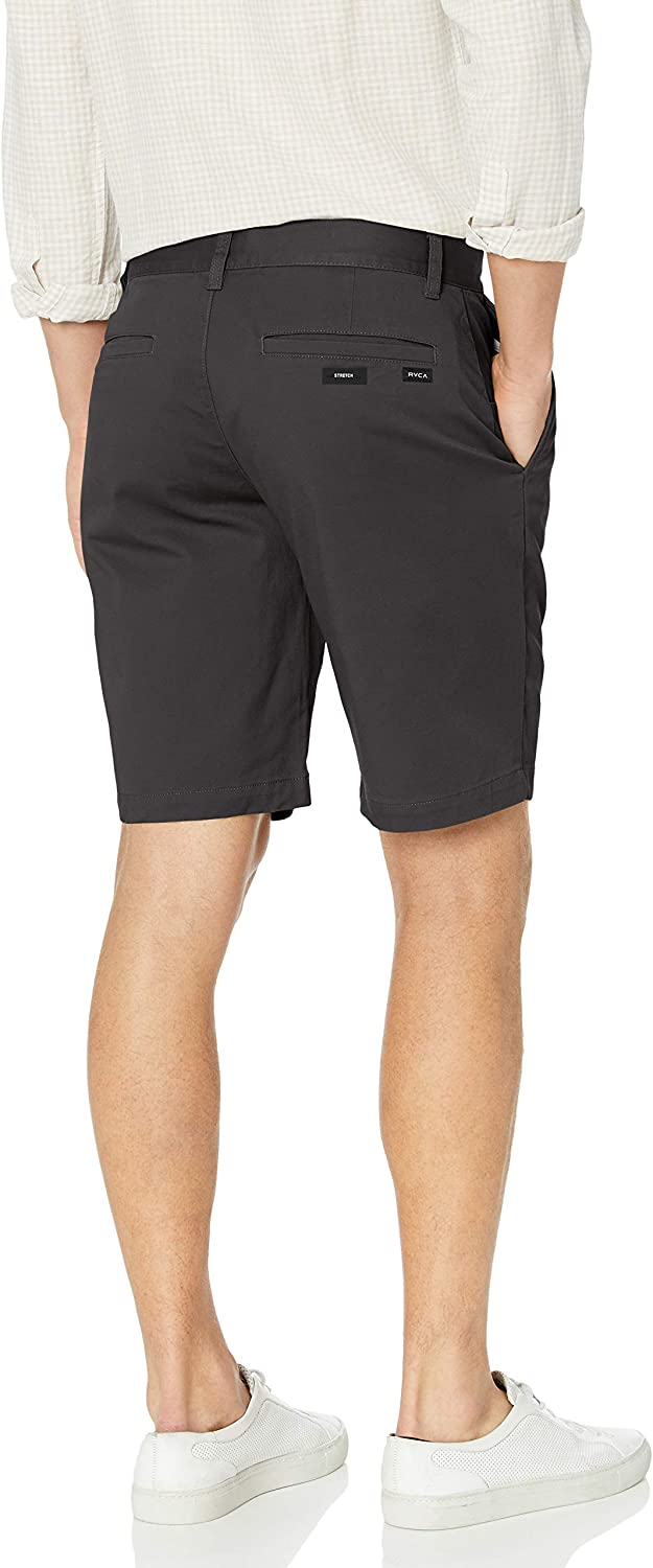 RVCA Mens Stretch Chino Short