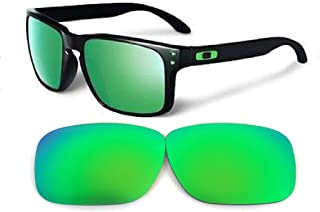 Galaxy Replacement lenses For Oakley Holbrook Polarized Green 100% UVAB