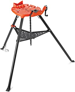 RIDGID 36273 Model 460-6 Portable TRISTAND Chain Vise, 1/8-inch to 6-inch Pipe Vise,Red