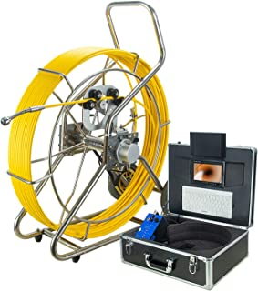 HBHYQ Endoscopio de Tubo de Pantalla Grande de 7 Pulgadas, cámara de inspección de Cuentas, Detector Interno de tubería, d...