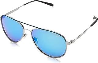 Arnette Sunglasses Dweet 3071 681/25 Blue Rubber Gunmetal Blue Mirror