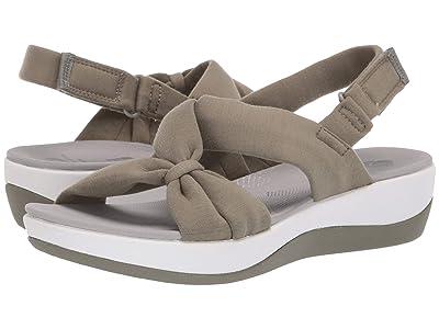 Clarks Arla Primrose (Dusty Olive Textile) Women