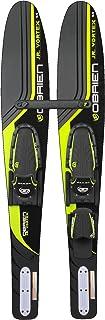 "O`Brien Jr. Vortex Kids Combo Water Skis with x-7 Bindings, 54"", Green"