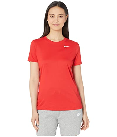 Nike Dry Legend Tee Crew (University Red/White) Women