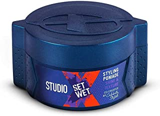 Set Wet Studio X Styling Pomade For Men - Shine & Texture 70 gm