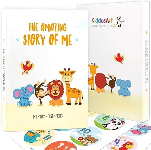 Limited Promo: The Amazing Baby Memory Book by KiddosArt. Keepsake Journal | Scrapbook | Photo Album, Record Memories...