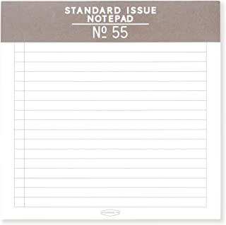 DesignWorks Ink Standard Issue Square Note Pad No. 55, Taupe