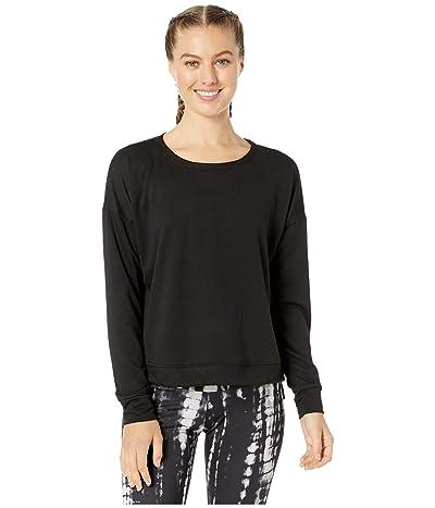 Onzie High-Low Sweatshirt (Black) Women