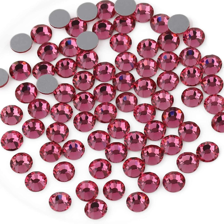 Classic Beadsland 1440pcs Flat Back Crystal Gems Rhinestones Round N Indefinitely for