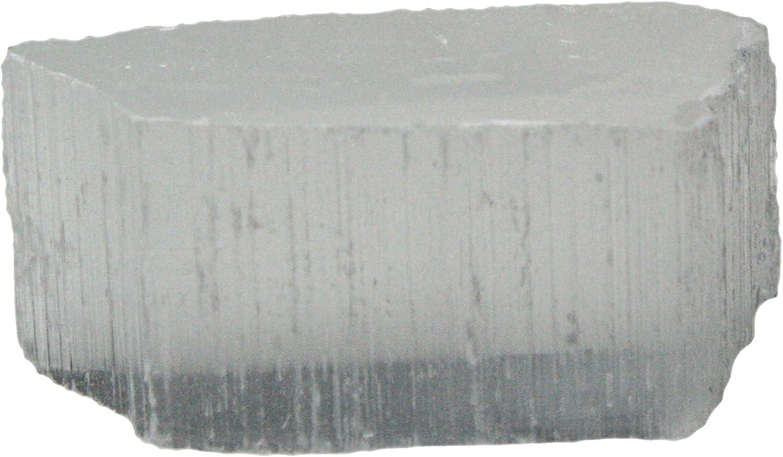 precios mas baratos TV Stone Satin Spar Selenite Mineral Crystal Rock by Squire Squire Squire Boone Village  Las ventas en línea ahorran un 70%.
