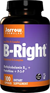 Jarrow Formulas - B-Right 100 Caps Pack Of 4