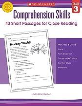 Comprehension Skills: Short Passages for Close Reading: Grade 3