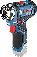 Bosch Professional GSR 12V-15 FC - Atornillador a batería (sin batería, 12V, 15/30 Nm, FlexiClick, en caja)