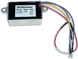 CDI Electronics 193-4476 Johnson/Evinrude Voltage Regulator - 2/3/4 Cyl. 10 Amp (1992-2005)