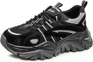 ASMCY Mujeres Atlético Zapatos para Caminar - Respirable Malla Moda Casual Zapatillas Carretera Zapatos para Correr, Liger...