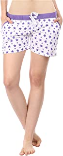 Semantic Women'S Purple Shorts