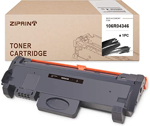 lowest ZIPRINT Compatible Toner Cartridge Replacement for Xerox 106R04346 B210 online use with MFP B210 outlet online sale B205 B215 (Black,1-Pack) sale