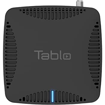 Tablo Dual LITE [TDNS2B-01-CN] Over-The-Air [OTA] Digital Video Recorder [DVR] for Cord Cutters - with WiFi, Live TV Streaming, & Automatic Commercial Skip, Black