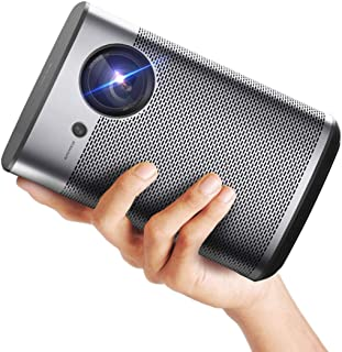 XGIMI Halo Smart Mini Projector, 1080P FHD 800 ANSI Lumen Portable Projector, Android TV 9.0, Support 2K/4K, Portable WiFi...