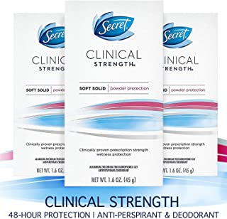 secret clinical strength invisible solid vs smooth solid