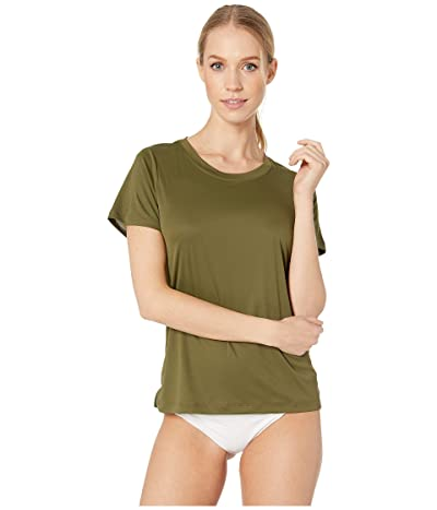 Hurley Quick Dry Surf Shirt (Olive Canvas) Women