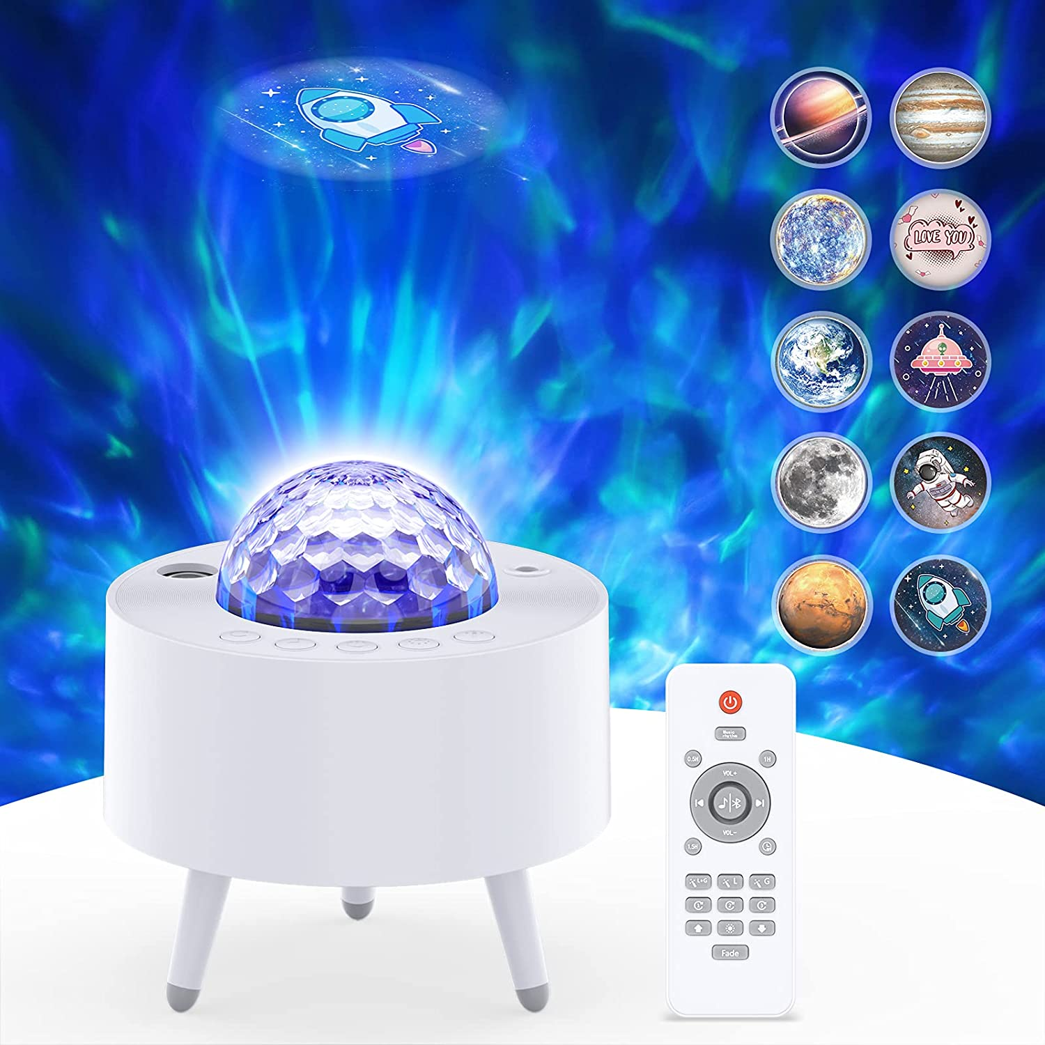 Galaxy Projector Star Our shop most popular Light with Bluetooth Spe Limited price sale