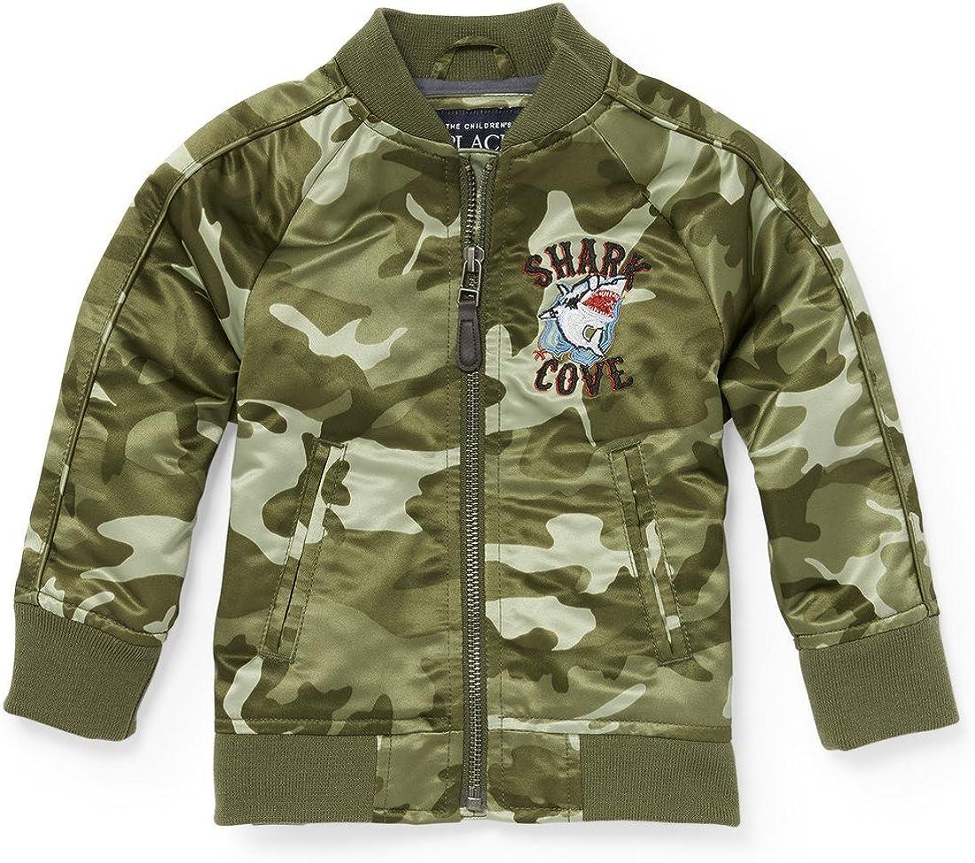 The Children's Place Big Boys' Souvenir Jacket