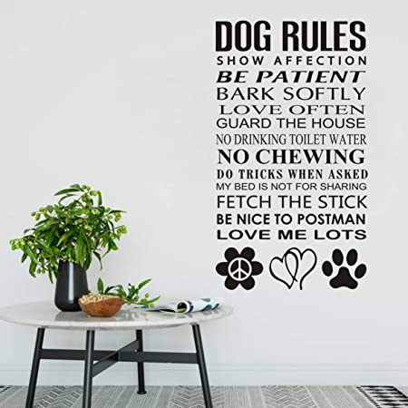 Vinyl Sticker Ct005EverygirlviiET Vinyl Wall Decal a dog Wall Quotes and a mother willing to let every girl should have two things