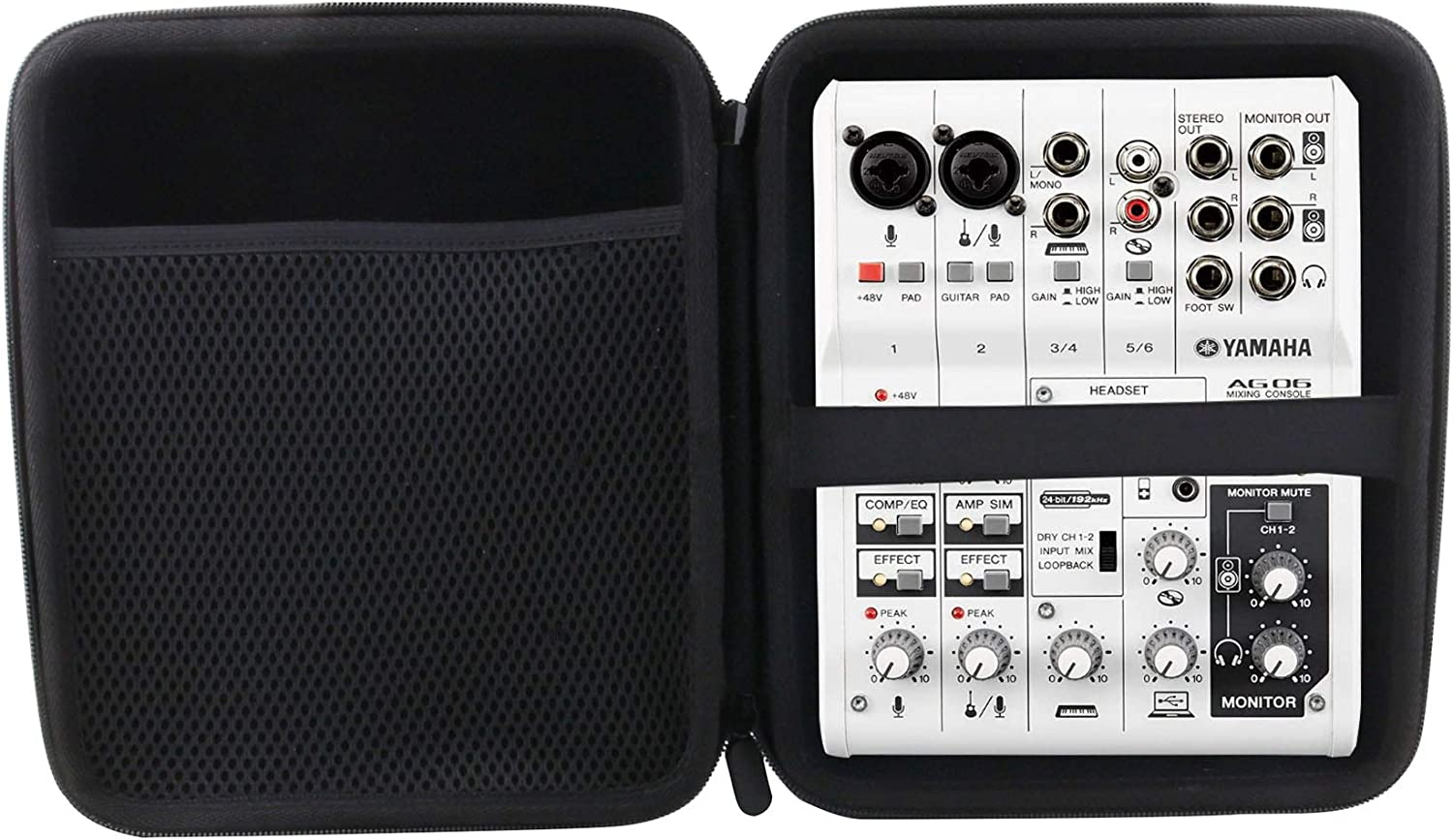 WERJIA New item Hard EVA Travel Case for AG06 Yamaha MG06 Bargain sale 6-Channel 6 Mix